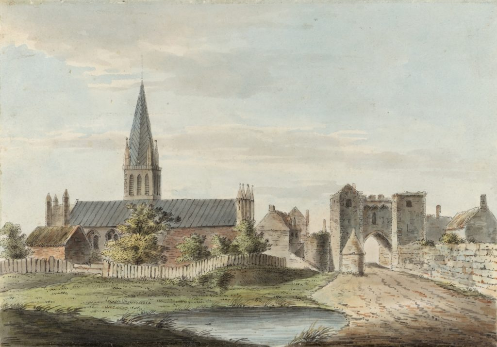 'Yarmouth Church' by John Constable, watercolour on paper, c.1794