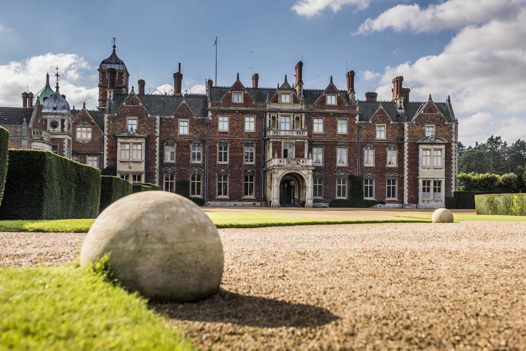 Sandringham House, home to the Royal Family