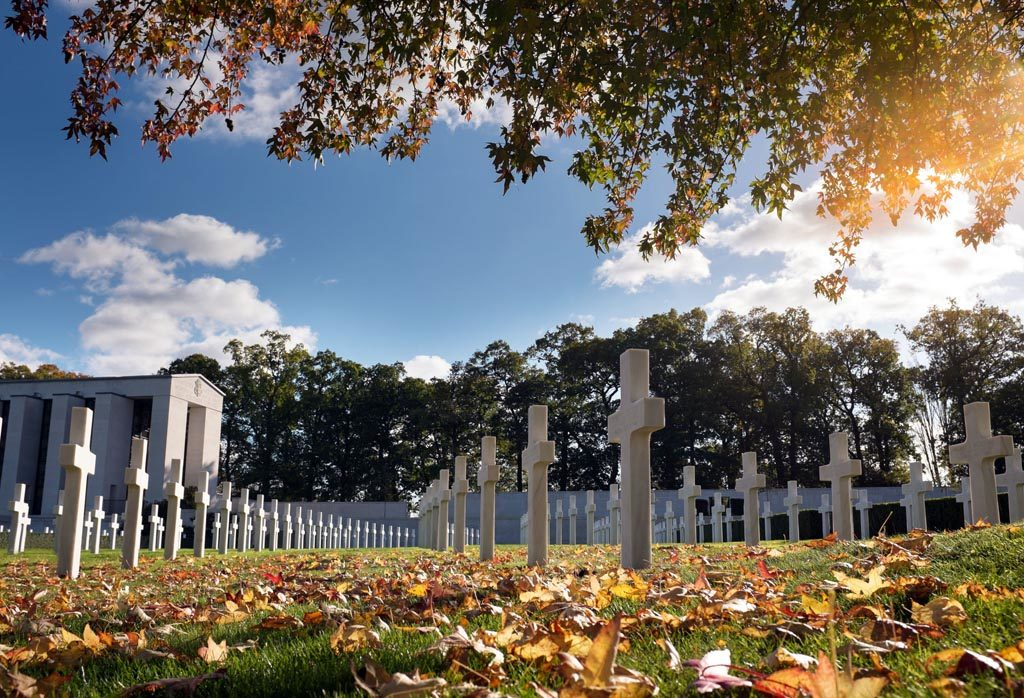 The Cambridge American Cemetery and Memorial