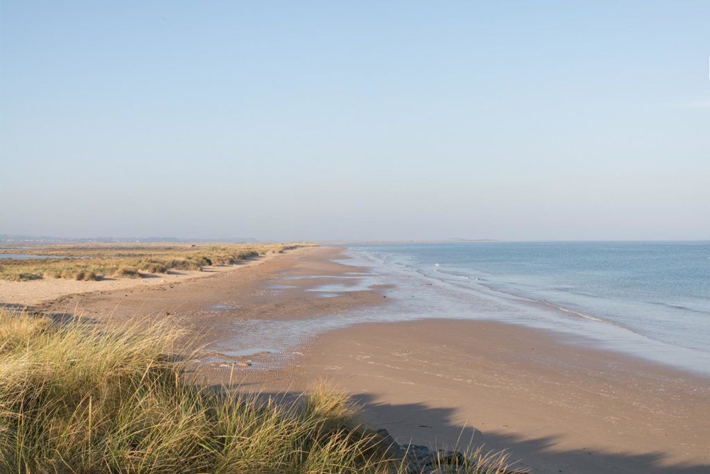The beach at Brancaster
