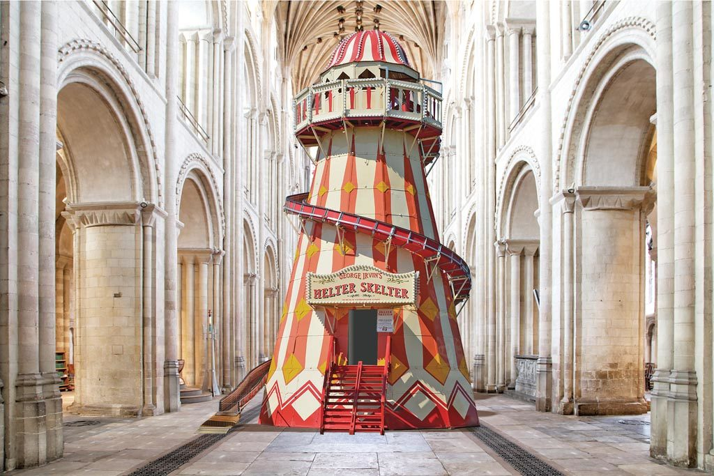 Helter Skelter, Norwich Cathedral