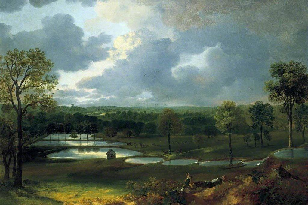 Gainsborough, Thomas, 1727-1788; Holywells Park, Ipswich