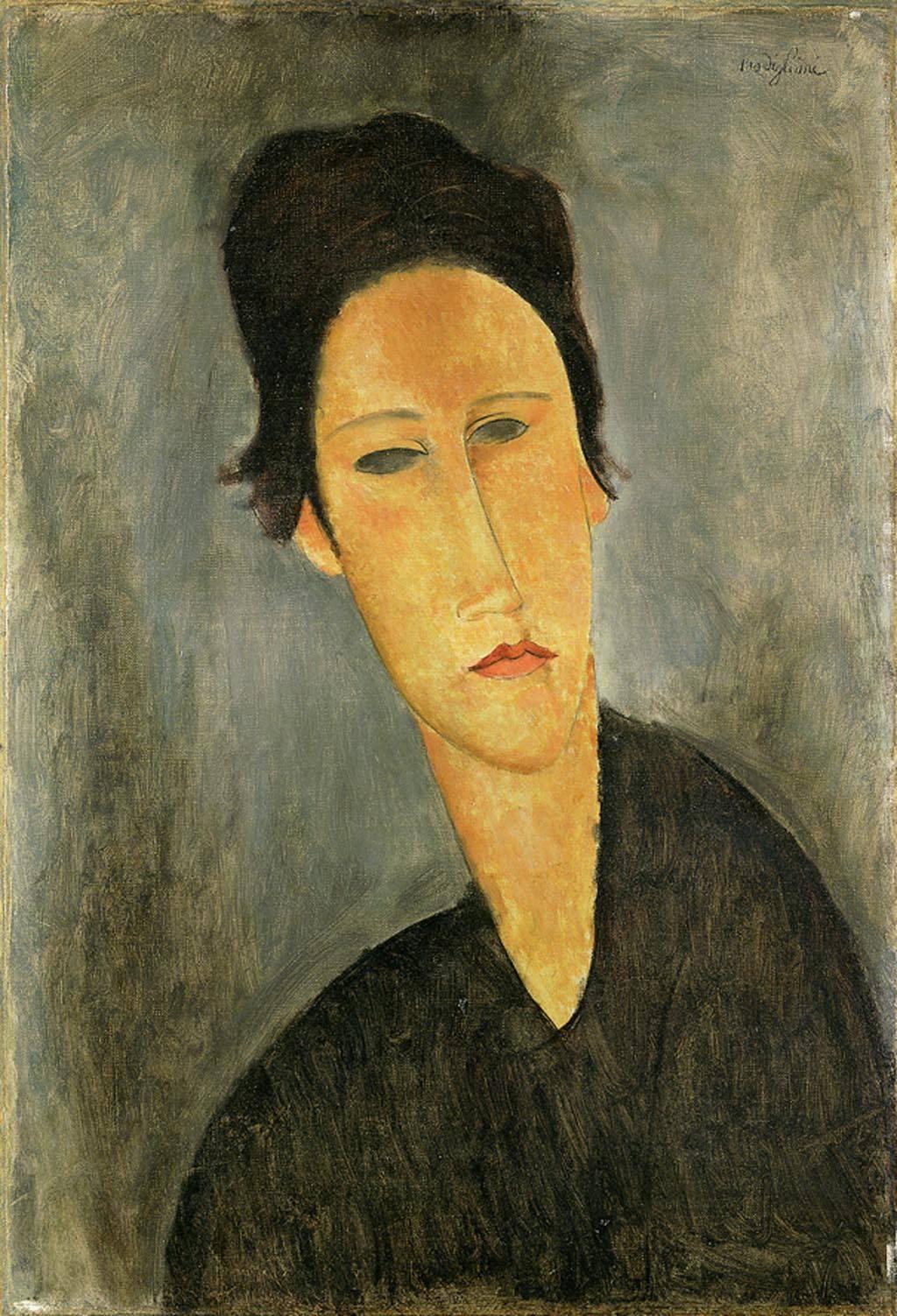 Modigliani - Head of a Woman