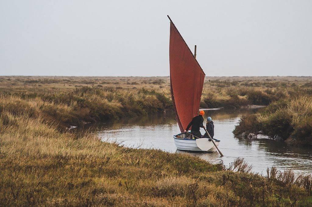Coastal Exploration Norfolk saltmarsh