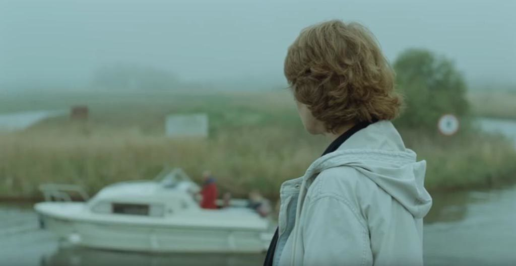 Charlotte Rampling on the Broads in 45 Years