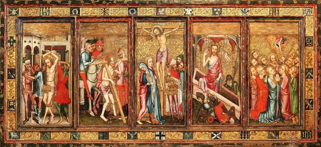 Norwich cathedral despenser retable