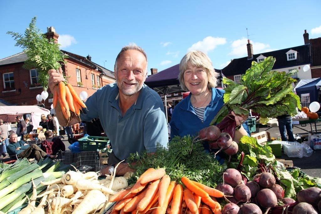 Aylsham market