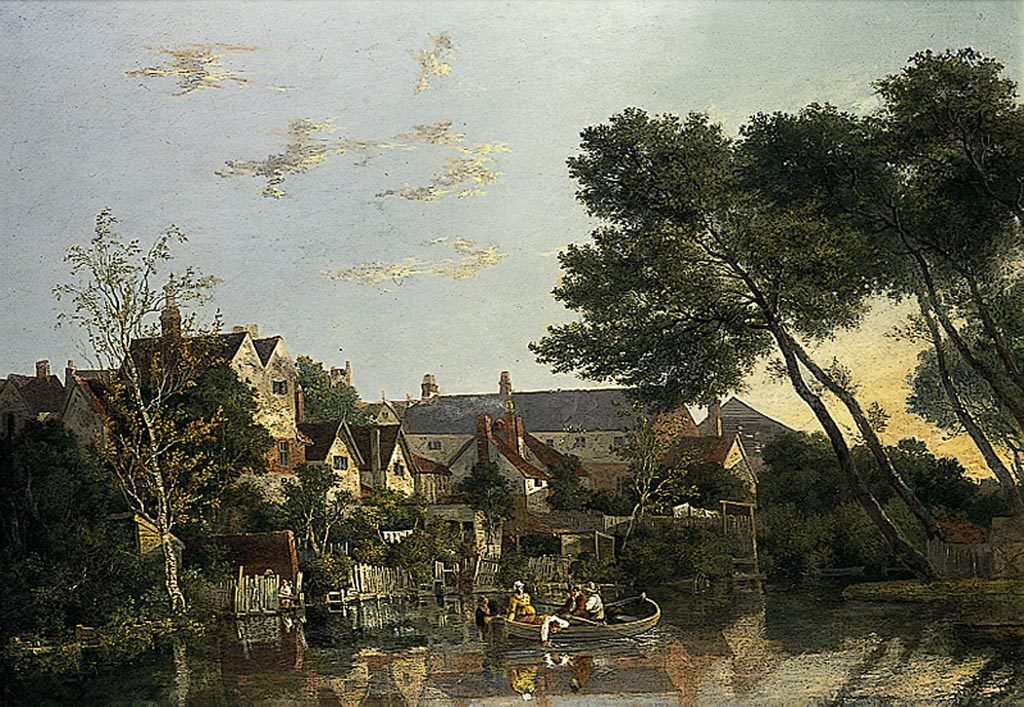 John Crome (1768-1821): Norwich River: Afternoon, 1812-1819