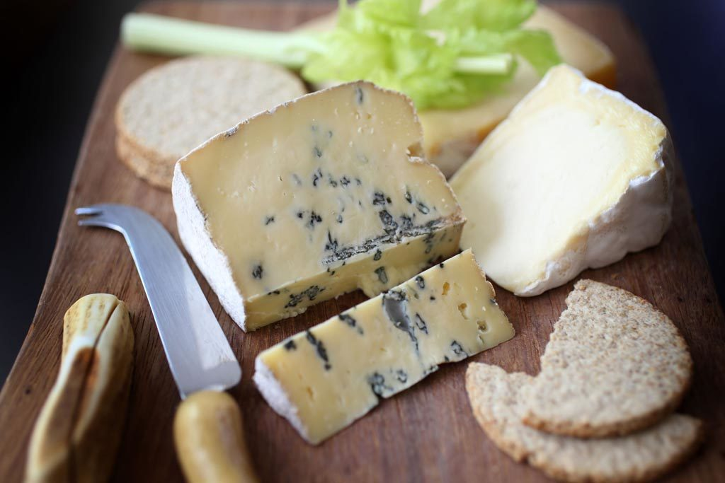 Mrs Temple's cheeses