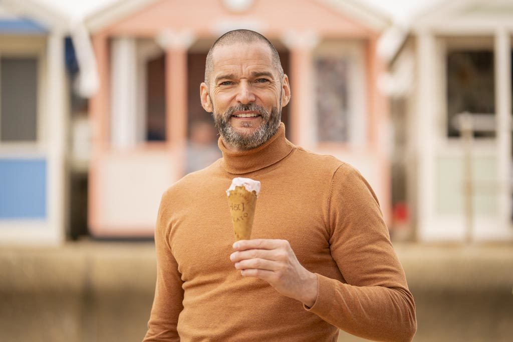 Fred Sirieix at Southwold credit VisitBritain/Pete Dadds