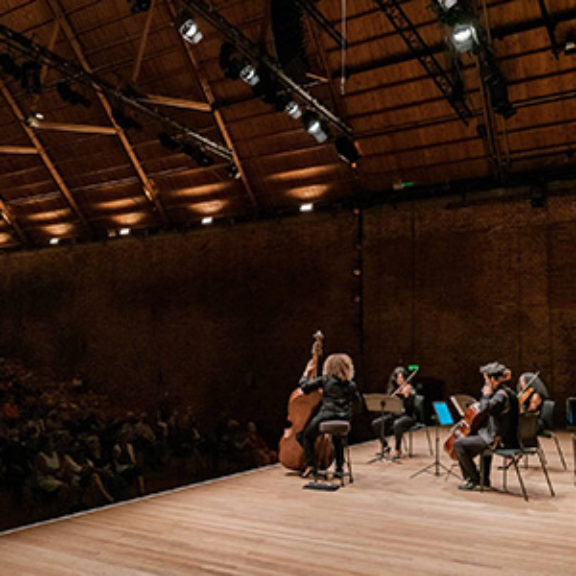 Socially distanced concerts at Snape Maltings