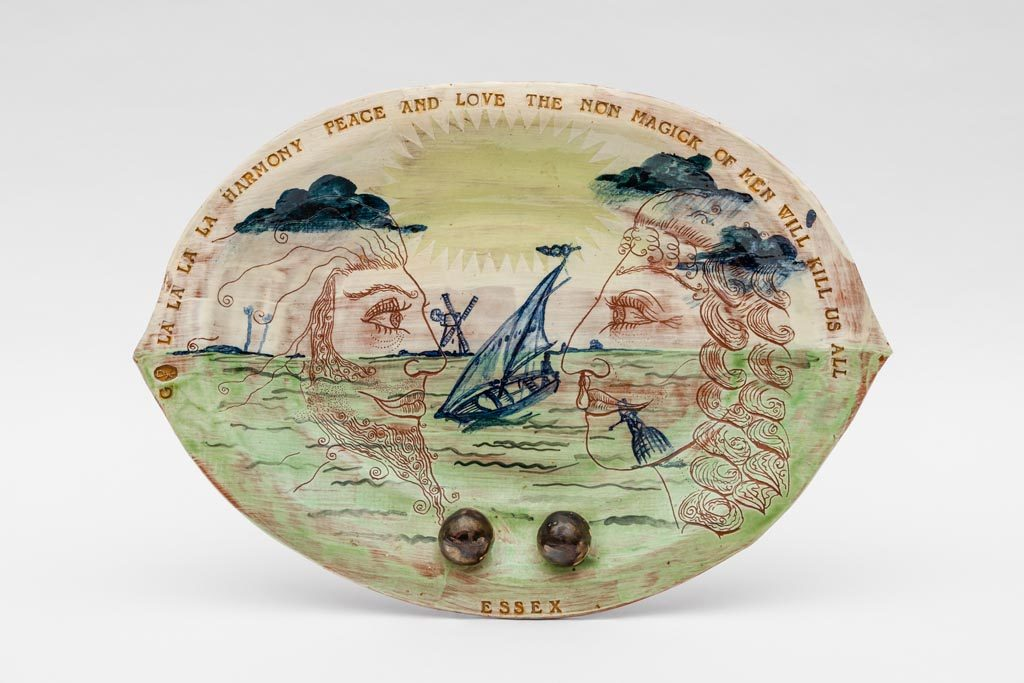 Essex Plate_Grayson Perry_1985_© Grayson Perry and Victoria Miro