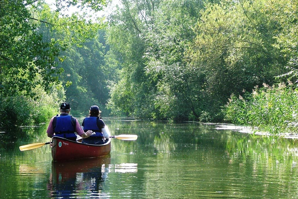 Broads canoe