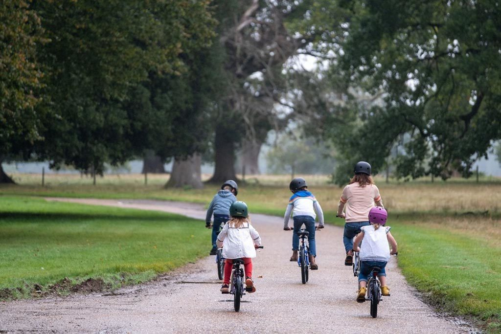 Ickworth family cycle summer