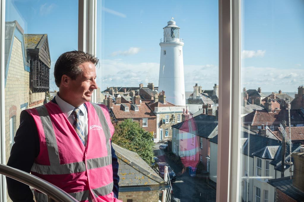 Tourism Minister Nigel Huddleston at Southwold